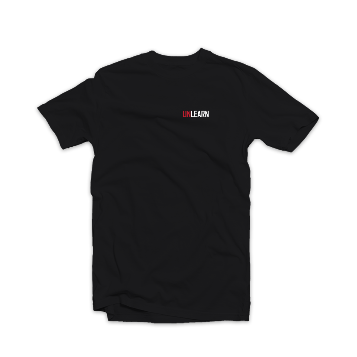 Unlearn Tee Black