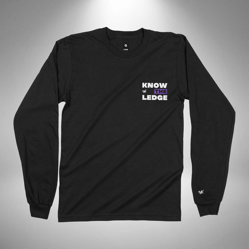 Jewel 1 - Knowledge Long Sleeve Cotton T-shirt