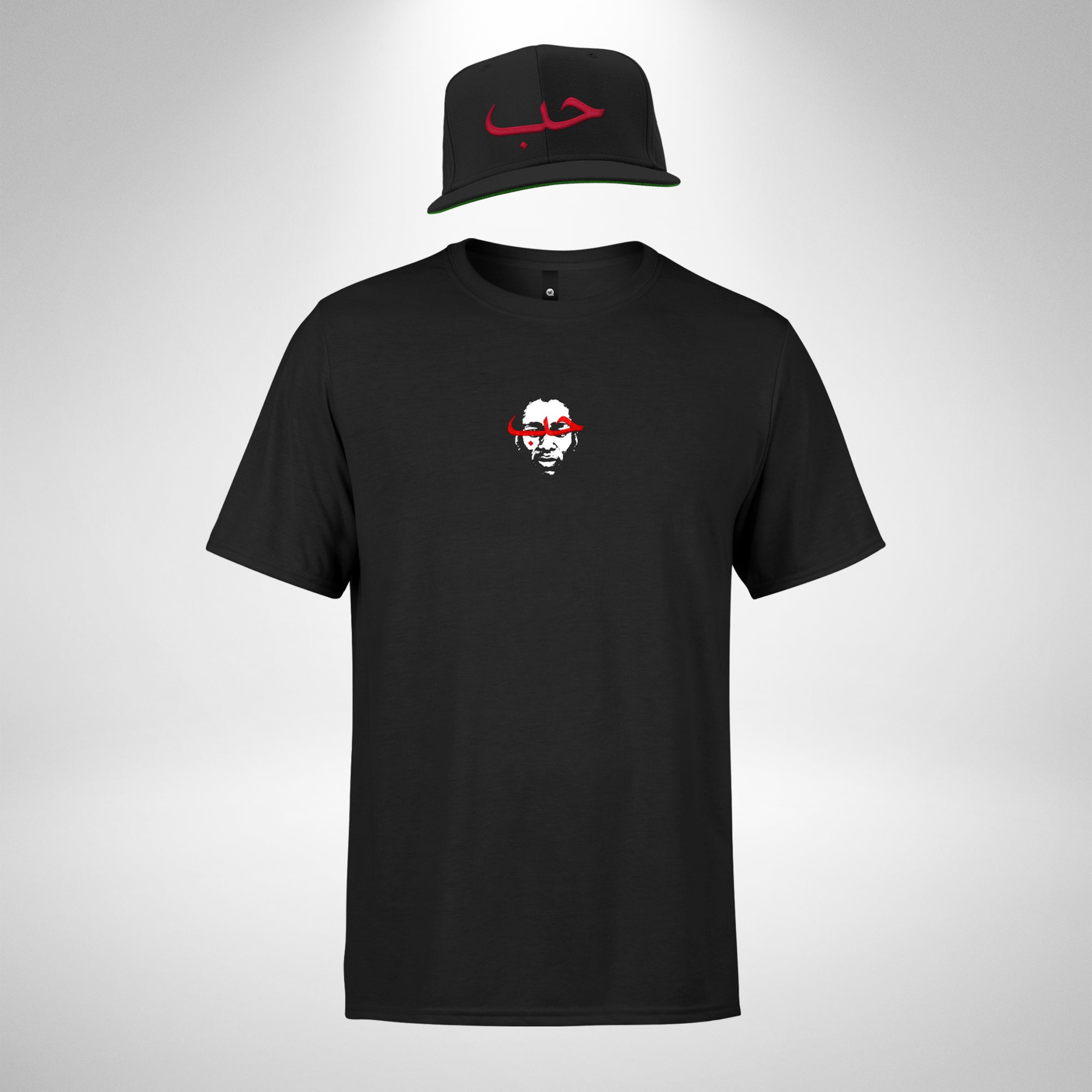 Love Tee & Snapback Cap Bundle