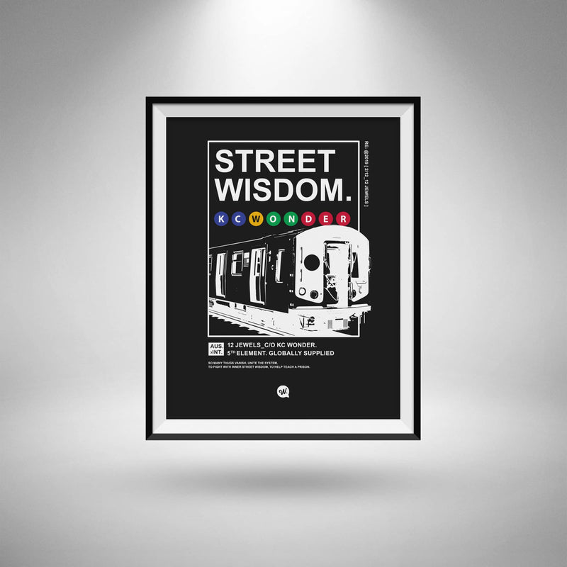 Wisdom A3 Poster Card Stock