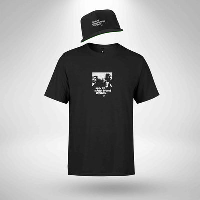 Clothing Tee & Snapback Cap Bundle