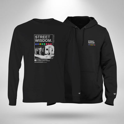 Long Sleeve T-shirt & Hoodie Bundle