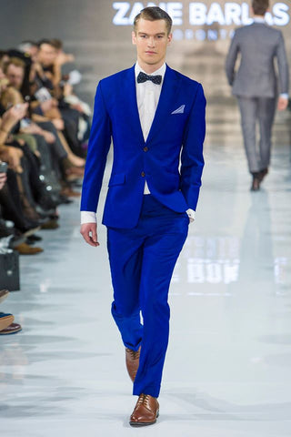 Cobalt Royal Blue Suit