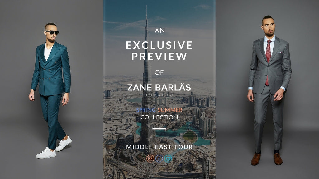 Zane Barlas Dubai Riyadh Middle East Trunk Show Event
