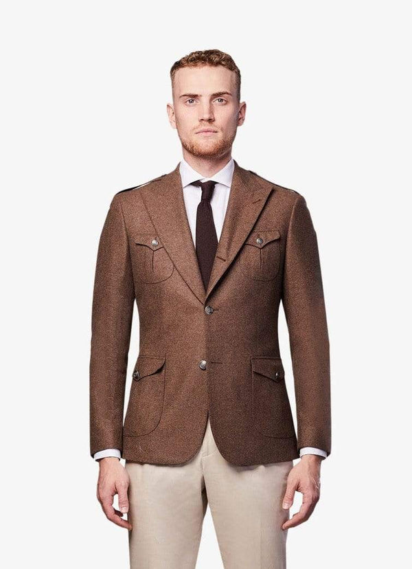 Brown Safari Blazer