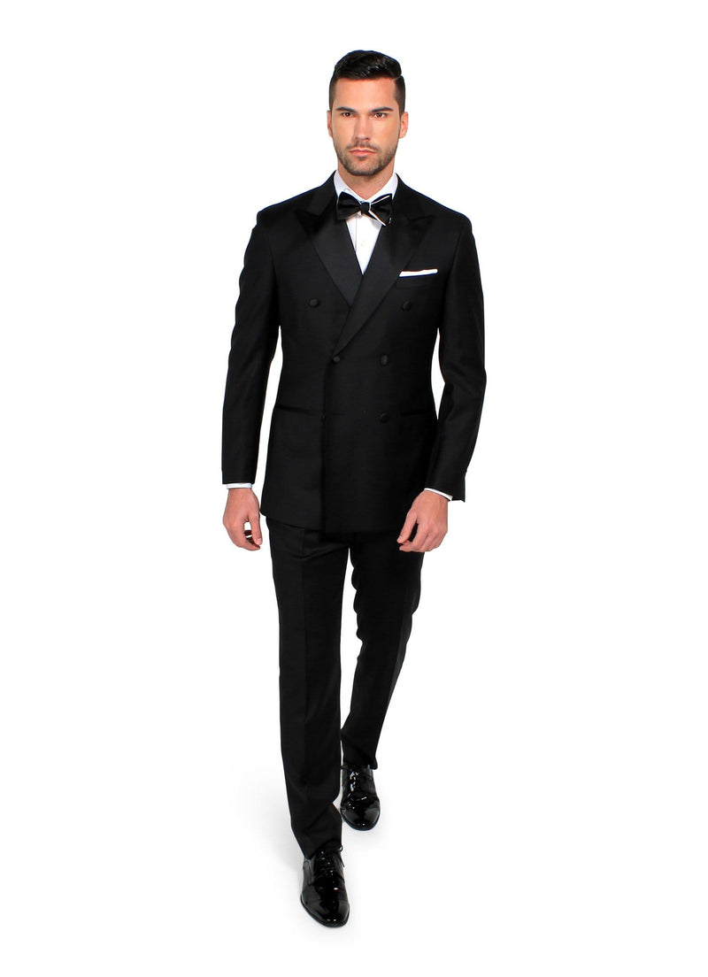 Black Manhattan Tuxedo- Rental