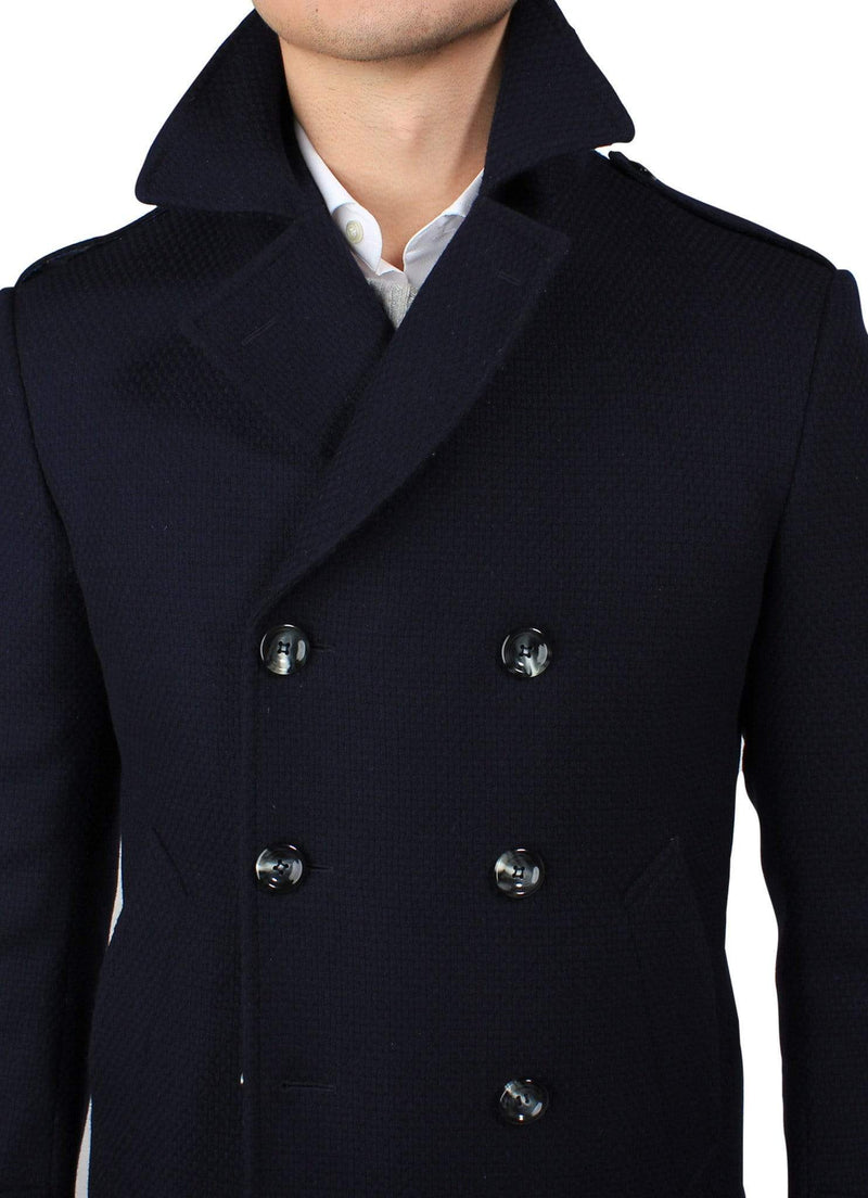 Blue Peacoat - Rental