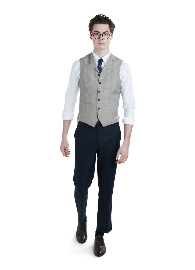 Light Brown Waistcoat - Rental