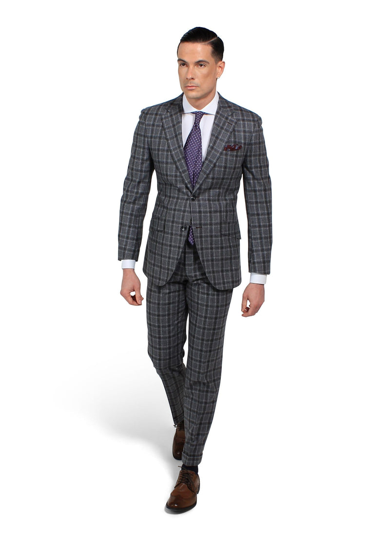 Oxford Grey Check - Rental