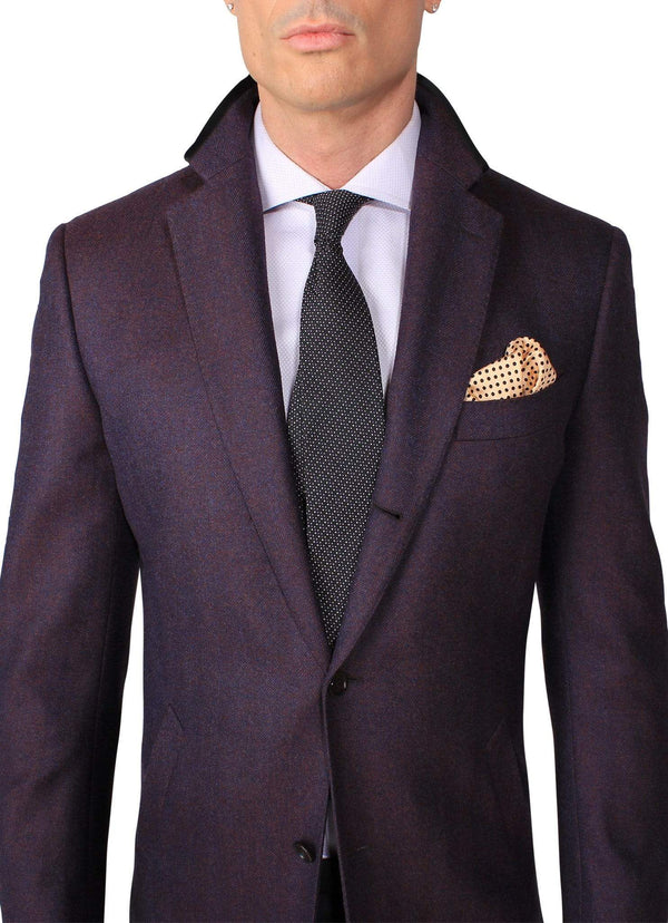 Purple Overcoat - Rental
