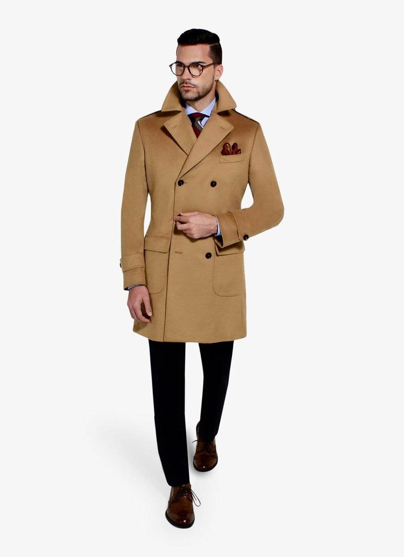 Brown Cashmere Overcoat
