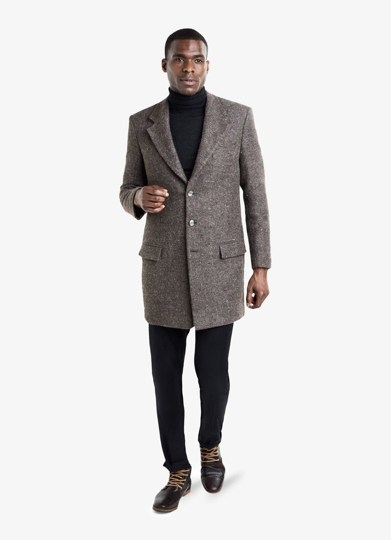Brown Overcoat