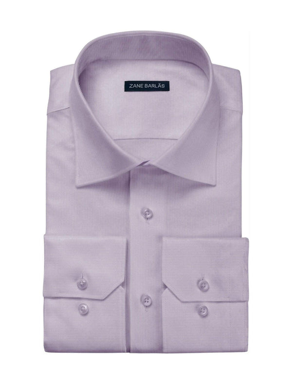 PURPLE WITH WHITE STRIPE SHIRT