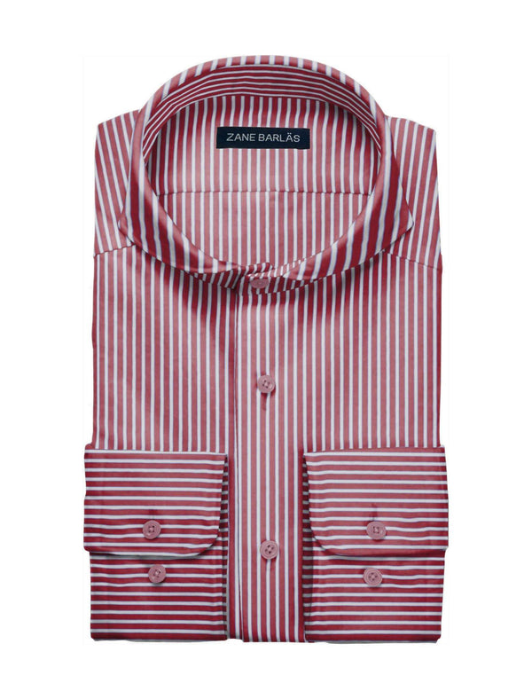 RED STRIPE SHIRT