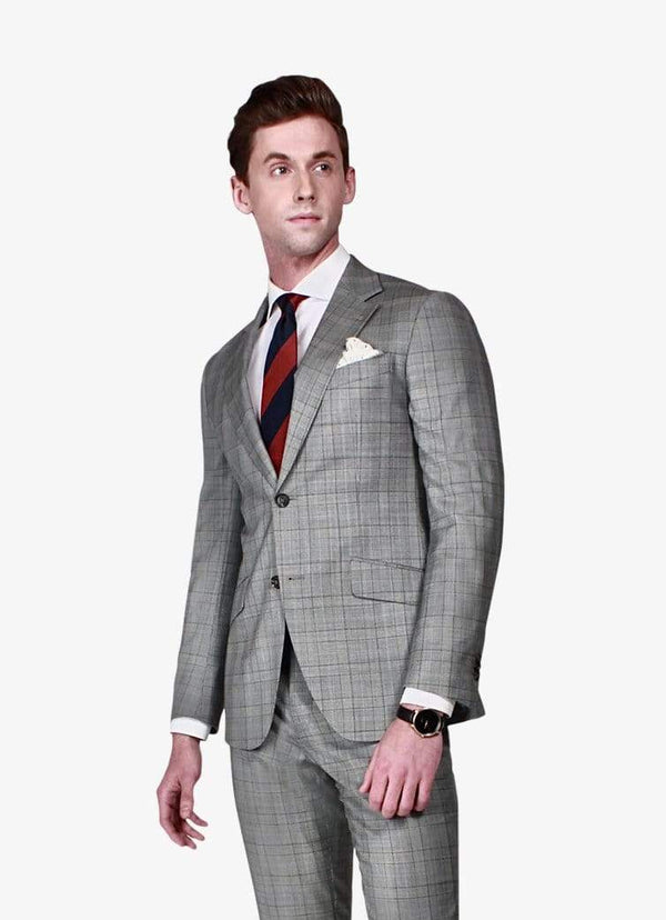 Oxford Grey Check Suit