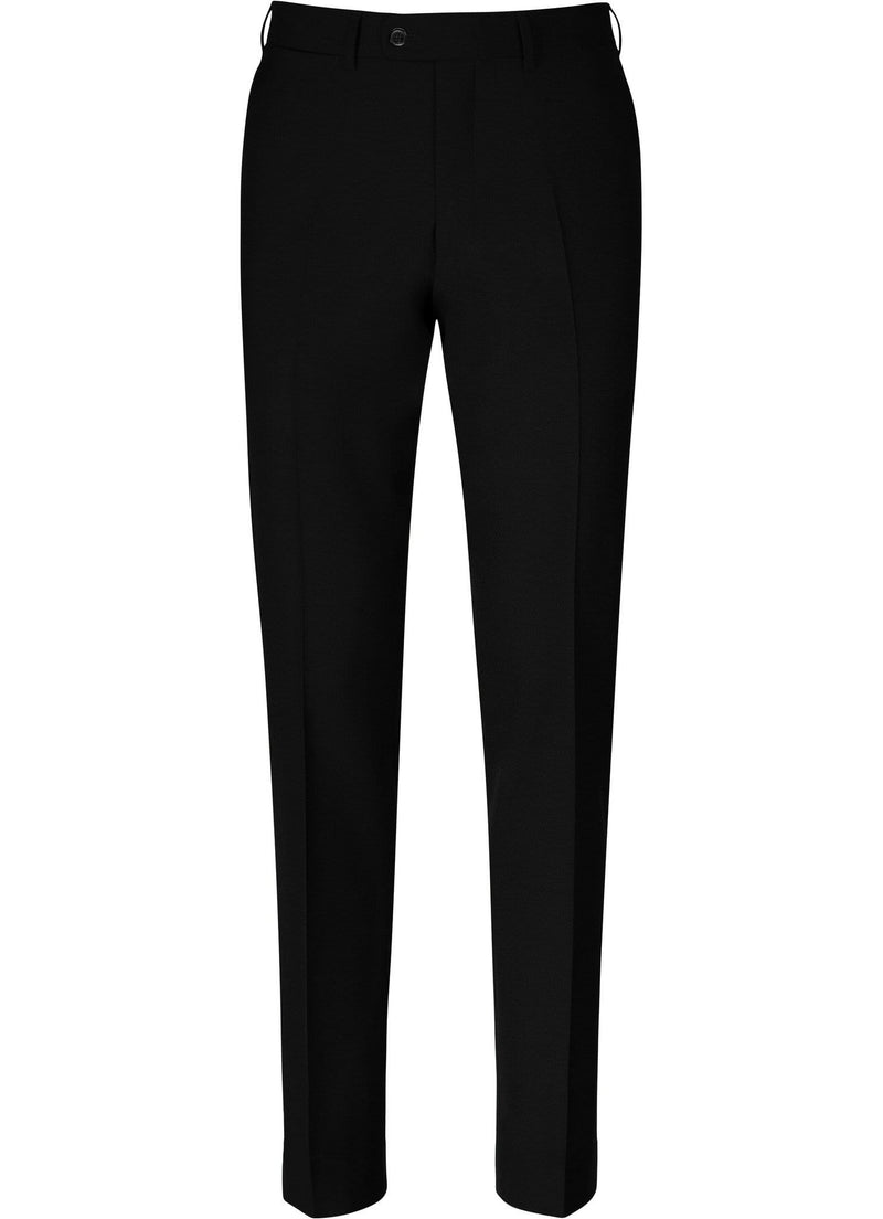 Charcoal Grey Plain Trousers