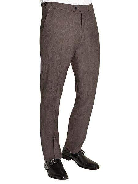Light Grey Plain Trousers