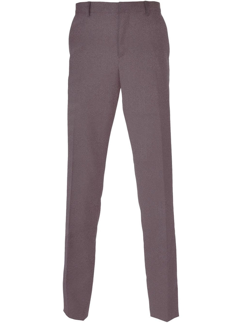 Medium Grey Plain Trousers