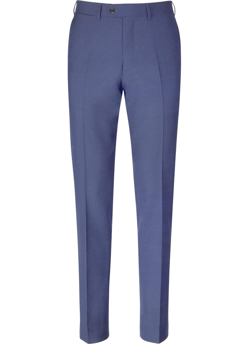 Teal Green Plain Trousers