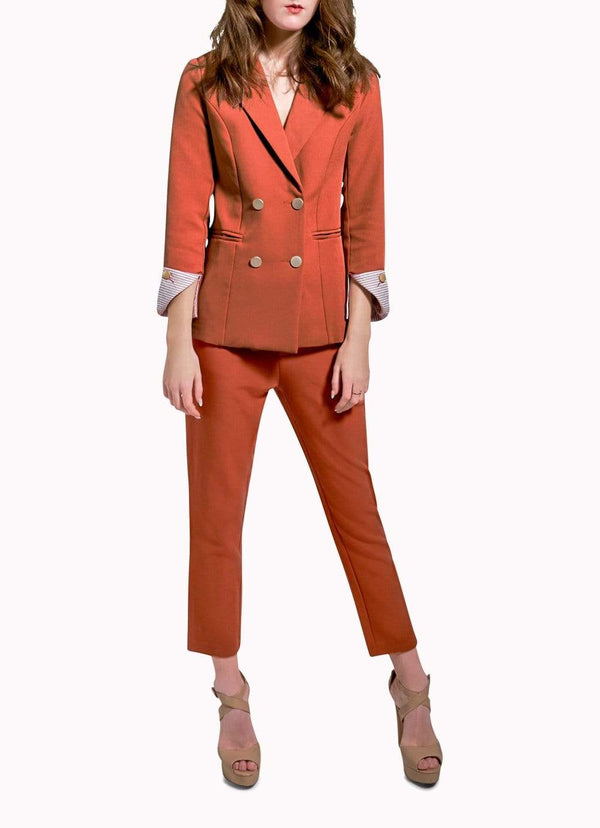 Burnt Orange Suit