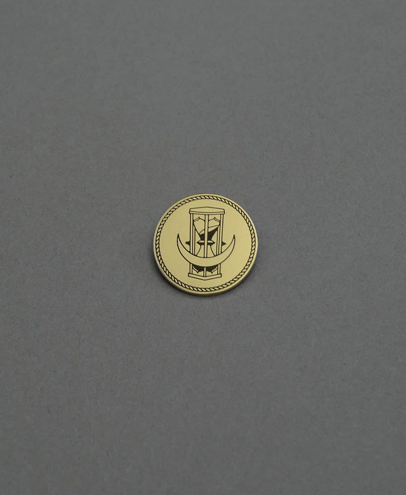 Time Shift Pin - Gold