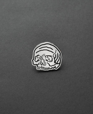 Load image into Gallery viewer, Spiral Skull Pin