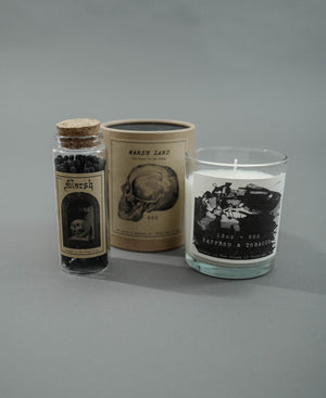 Load image into Gallery viewer, Saffron Candle x Match Box Set