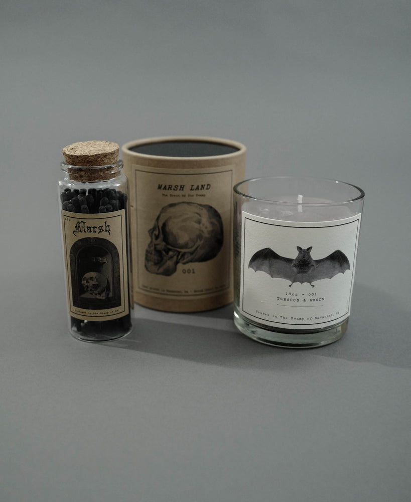 Marsh Candle x Match Box Set