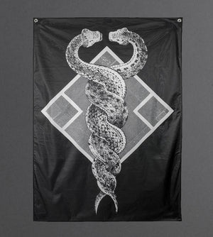 Double Snake Tapestry