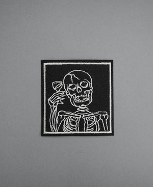 Load image into Gallery viewer, Death Wine Canvas Patch - Black