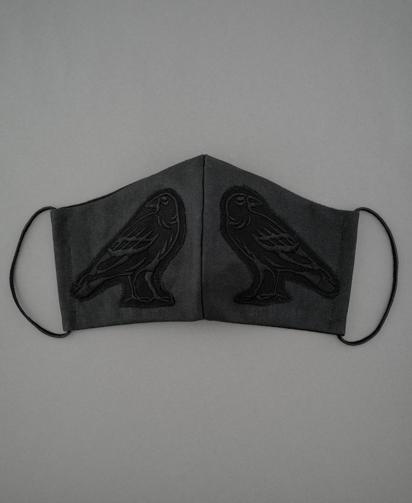 Load image into Gallery viewer, Raven Mask Black