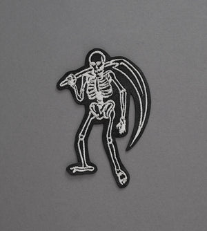Skeleton Reaper Leather Patch