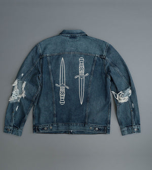 Load image into Gallery viewer, Double Dagger x Made & Crafted Levis