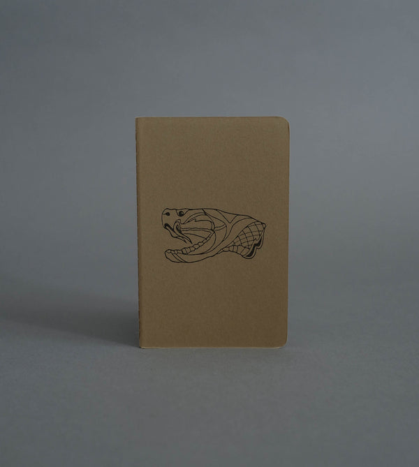 Snake Head Notebook