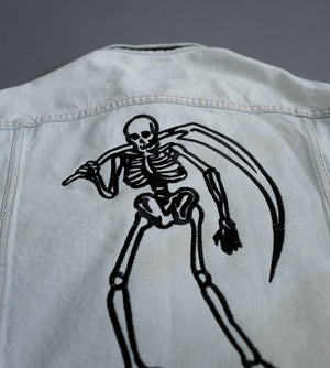 Load image into Gallery viewer, Skeleton Reaper x Levis Vintage