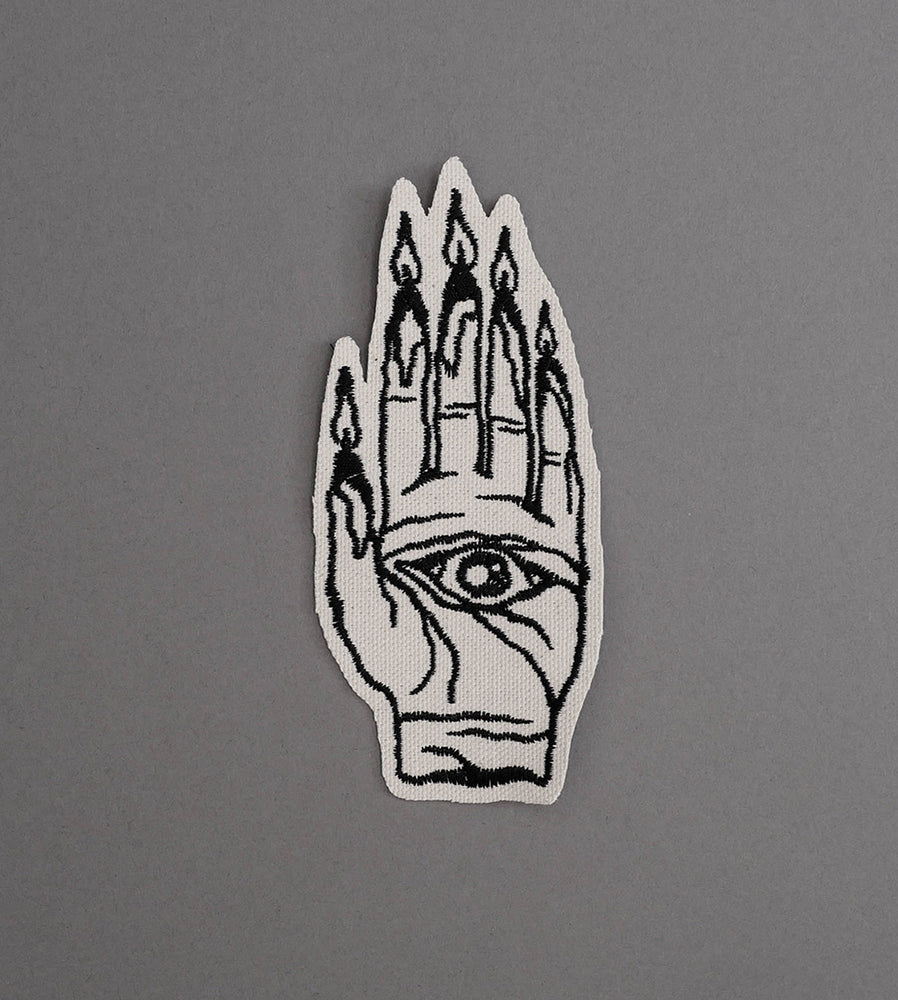 Hand Burner Canvas Patch - Cream