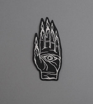 Hand Burner Canvas Patch - Black