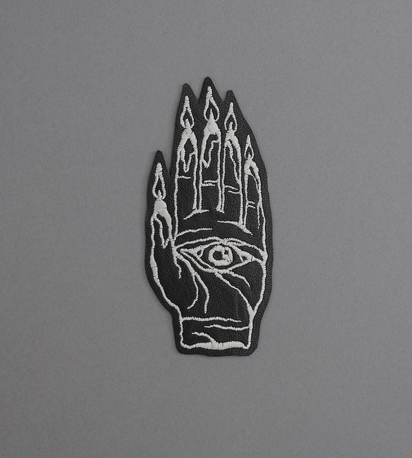 Hand Burner Leather Patch