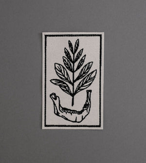 Growth Canvas Patch - Cream