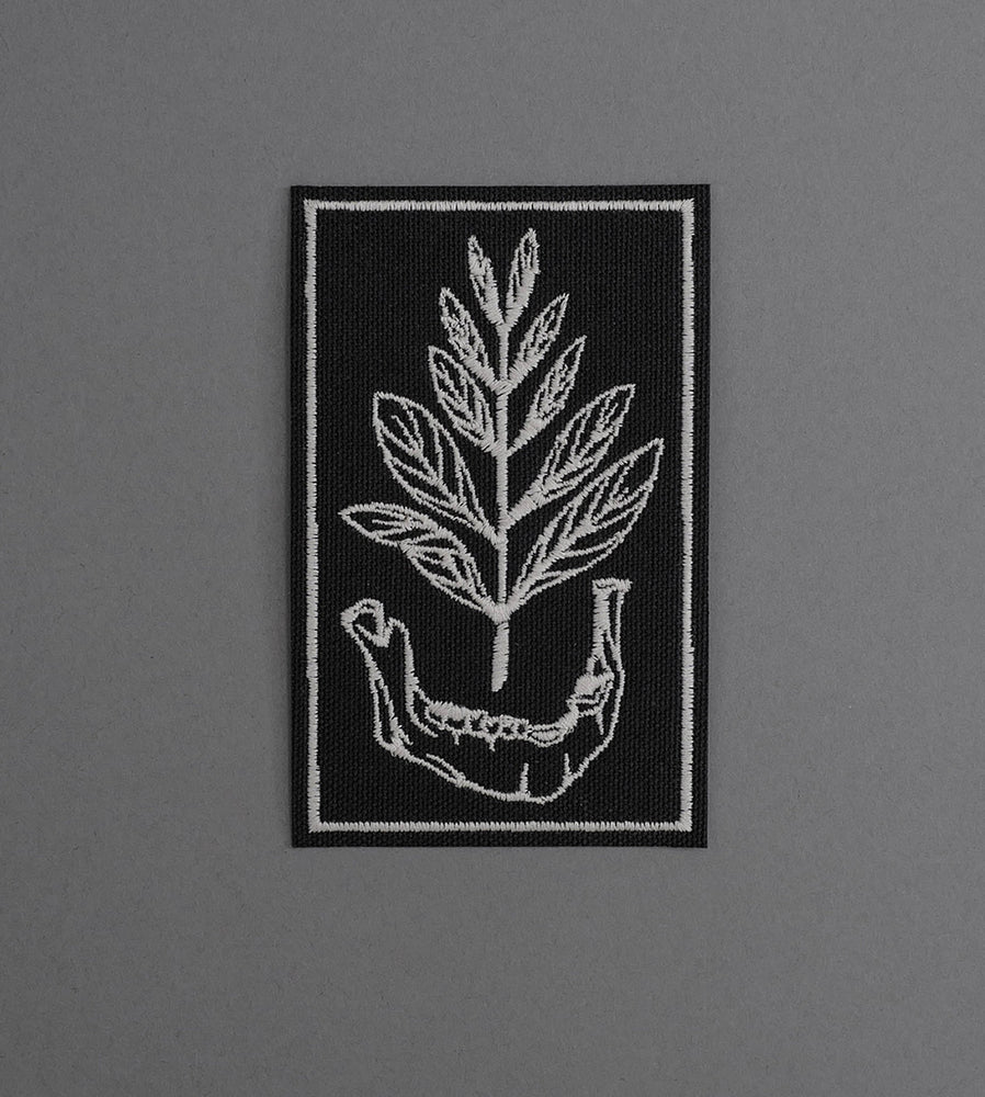 Growth Canvas Patch - Black