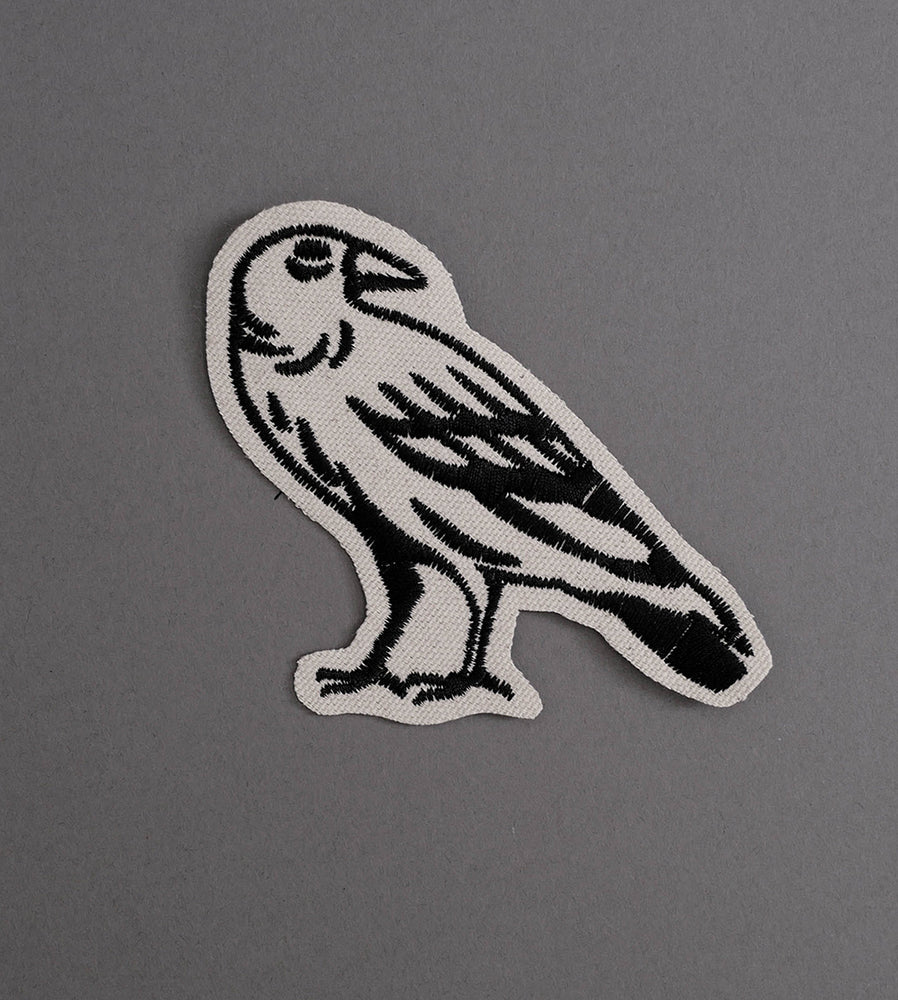 Raven 2 Canvas Patch - Cream