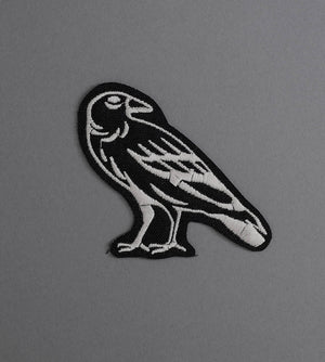 Raven 2 Canvas Patch - Black