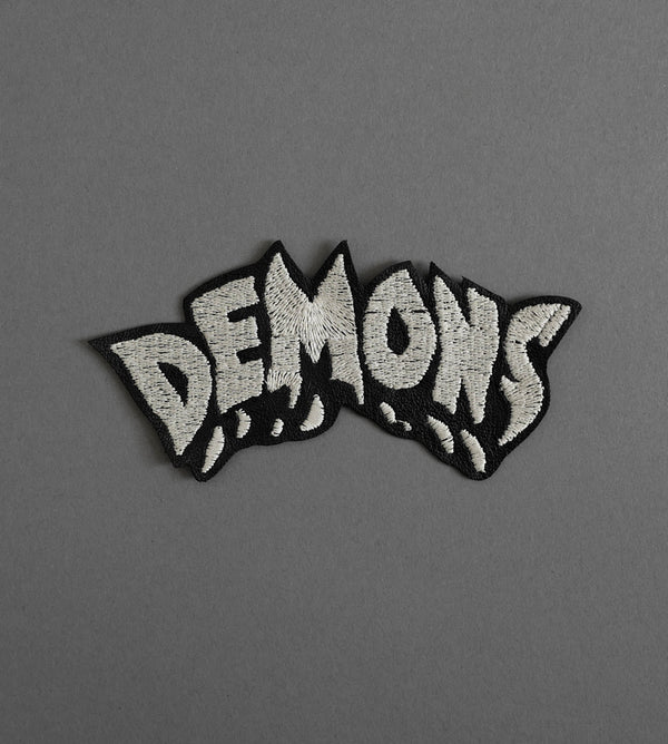 Demons Leather Patch