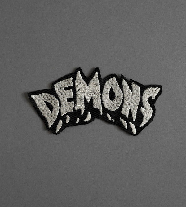 Demons Canvas Patch - Black