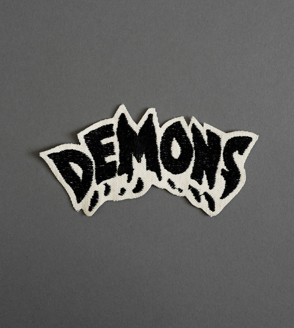 Demons Canvas Patch - Cream