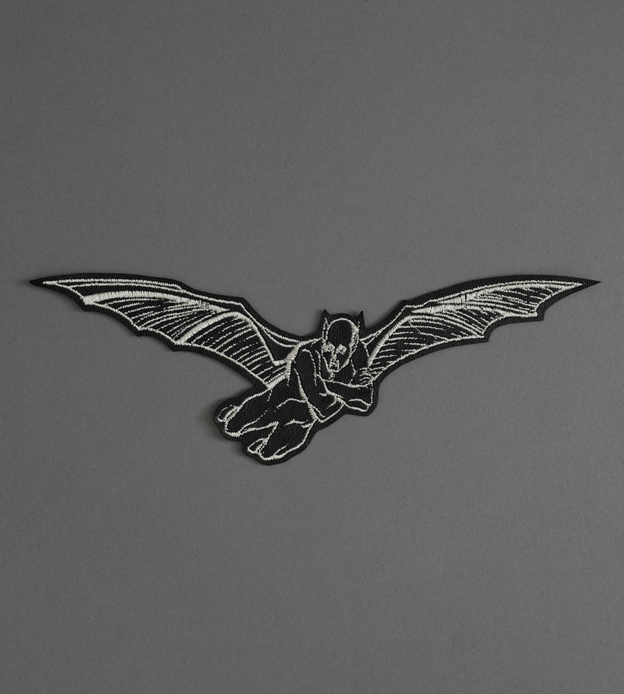 Flying Demon Leather Patch