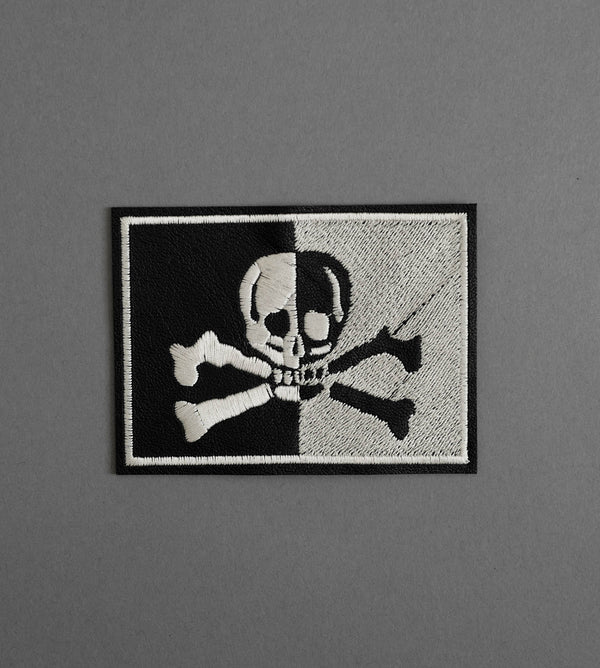 Flag Leather Patch