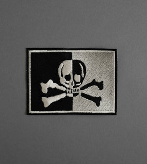 Flag Canvas Patch - Black