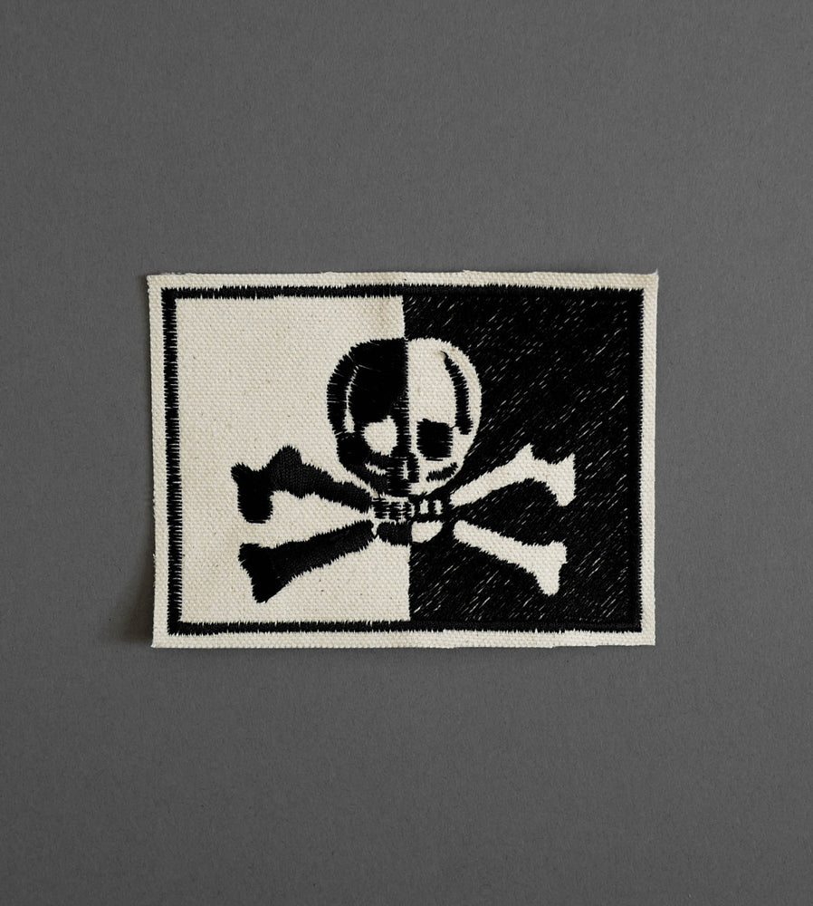 Flag Canvas Patch - Cream