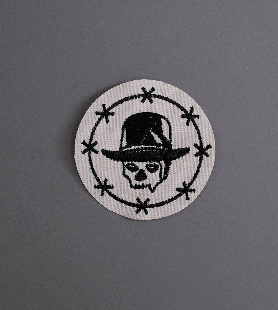 Blood Religion Canvas Patch - Cream